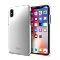 Estojo Iluv p/iPhone X Metal - Aixmetfsi Prata