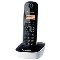 Telefone Sem Fio Panasonic KX-TG1611 com Identificador de Chamadas - Branco/Preto