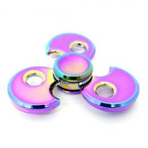 Spinner Anti Stress Metal Pequeno Helice Furada