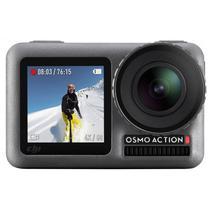 """Camera de Acao Dji Osmo Action 2.25"""" Touch 4K Cinza"""