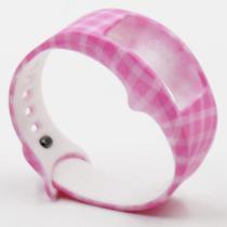 Pulseira 4LIFE de Silicone para Samsung Galaxy Gear Fit 2 - Pequeno - Design 12