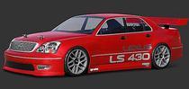 Hpi Lexus LS 430 Bolha Transparente Body 200MM 7478