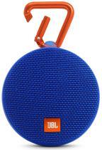 Caixa de Som JBL Clip 2 Bluetooth A Prova D'Agua Azul