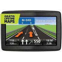 "GPS Automotivo Tomtom Via LTM 1505 M Tela 5"" Touch Screen-Mapas 3D"