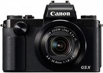 Camera Digital Canon Powershot G5X - 20.2MP - 4.2X - Wi-Fi - Full HD - Preto