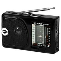 Radio Portatil AM/FM/SW 1-6 Satellite AR-305BT 2 Watts RMS com Bluetooth/Lanterna - Preto