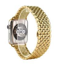 Pulseira 4LIFE de Aco Inoxidavel Dragon para Apple Watch 42MM - Dourado