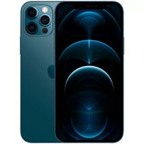 "Apple iPhone 12 Pro LZ A2407 256GB 6.1"" 12+12+12/12MP Ios - Azul Pacifico"