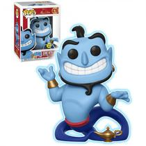 Boneco Funko Pop Disney Exclusive - Aladdin Genie With Lamp Glows In The Dark 476