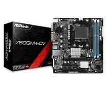 Placa Mãe Asrock AM3+ 760GM-HDV VGA/DVI/HDMI