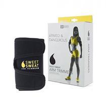 Sweet Sweat Arm Trimmer Cinta para Bracos Unisex (Amarela)