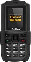 Celular Ruggear RG-129DS - 1.77 Polegadas - Dual-Sim - 2G - A Prova Dequot;Agua - Preto