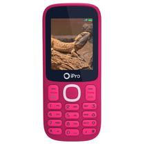 Celular Ipro I3200 Dual 32MB Rosa/Vermelho