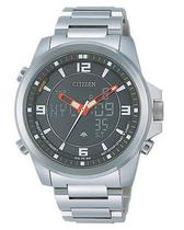 Relogio Masculino Citizen World Time Analogico/Digital JN5000-55E