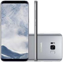"Smartphone Samsung Galaxy S8+SM-G955FD 64GB Lte Dual Sim 6.2"" Cam.12MP+8MP-Prata"