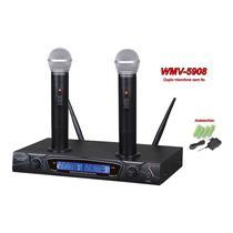 Microfone Powerpack WMV-5908 Recargable s/fio