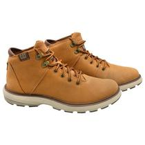 Bota Caterpillar Factor P722928 Masculina No 8 - Sudan Brown