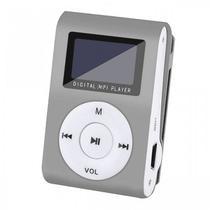 MP3 Player X-Tech XT-MP801 FM/SD Prateado