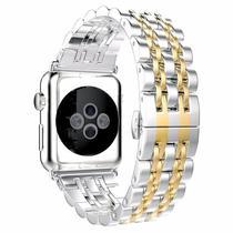 Pulseira 4LIFE de Aco Inoxidavel para Apple Watch - 38MM - Gold