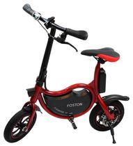"""Bicicleta Eletrica Foston P12 com Rodas de 12"""" - Vermelho"""