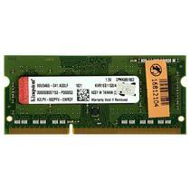 Memória Ram de 4GB para Notebook Kingston KVR16S11S8/4 DDR3 - Verde
