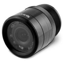"""Camera de Re Quanta QTCR33 Cmos 1/4"""" com Visao Noturna Infravermelho - Preto"""