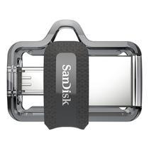 Pendrive Sandisk Ultra Dual Drive DD3 USB 3.0 128 GB - Prata
