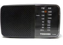 Radio Portatil Toshiba AM-FM TX-PR20S Preto