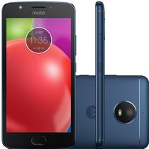 "Smartphone Motorola Moto E4 XT1762 2GB+16GB Lte Dual Sim 5.0"" Cam.8MP+5MP-Azul"