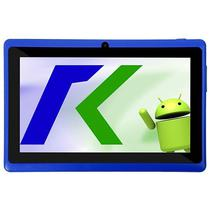"Tablet Keen A78 7.0"" Wifi 2MP VGA Os 4.4.2 Azul com Capa"