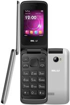 Celular Blu Diva Flex 2.4 T350 Dual Sim Cam Flash LED e Radio FM Prata