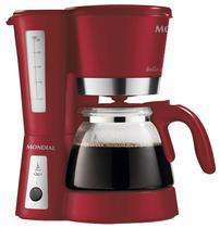 Cafeteira Eletrica Mondial Bella Arome C-26 Xicaras - Vermelho - 220V
