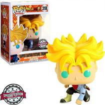 Boneco Funko Pop - Dragon Ball Super Saiyan Future Trunks **Ex** 318