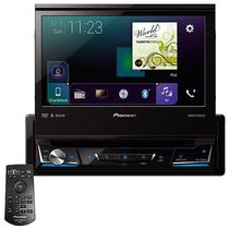 "Reprodutor DVD Automotivo Pioneer AVH-Z7050TV 7"" com Bluetooth/USB/TV - Preto"