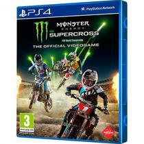 Jogo Monster Energy Supercross PS4