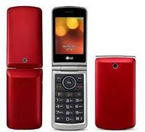 Celular LG G360 Flip Vermelho