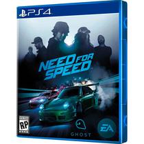 Jogo Need For Speed PS4