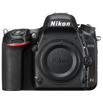 """Camera DLSR Nikon D750 de 24.3MP Tela 3.2"""" com Wi-Fi - Preta"""