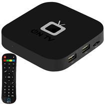 Receptor Fta On TV Ultra HD com Wi-Fi/Iptv/HDMI/USB Bivolt - Preto