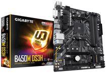 Placa Mãe Gigabyte AM4 B450M-DS3H HDMI/DVI/USB3.1/M.2