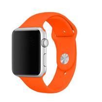 Pulseira 4LIFE para Apple Watch Silicone - 42MM - Cenoura
