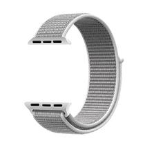 Pulseira 4LIFE de Nylon para Apple Watch 42MM, Velcro - Cinza