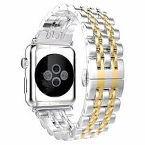 Pulseira 4LIFE de Aco Inoxidavel para Apple Watch - 42MM - Gold