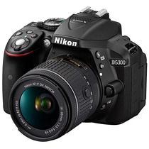 Camera Digital Nikon D-5300 18-55MM F/3.5-5.6G VR Kit Preto