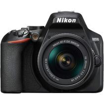 Camera Digital Nikon D3500 Kit 18-55 VR/ 24.2MP - Preto