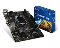 Placa Mãe MSI LGA1151 B250M Pro-VH M.2/HDMI/VGA