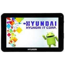 Tablet Hyundai HDT-9433X 8GB / Memoria Ram 1.5GB / Processador Quad Core / Cameras de 1.9MP e VGA - Preto