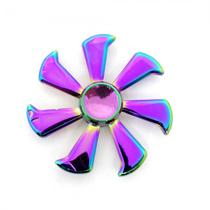 Spinner Anti Stress Metal 7 Pontas Lata Redonda