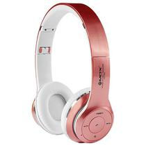 Fone de Ouvido Sem Fio Mox MO-F899 com Bluetooth/Microfone - Rosa