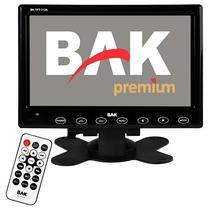 """Tela Automotiva de 7"""" BAK BK-TFT-7125 com Bluetooth USB/SD - Preta"""